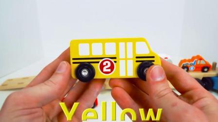 最好的学龄前儿童学习视频为孩子们学习汽车的名字和颜色玩具车,为孩子们的视频!
