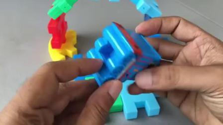 珍托马斯和朋友玩具火车玩具车
