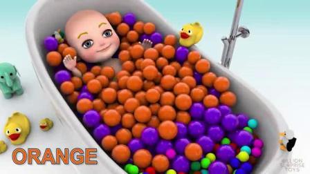 玩娃娃学习颜色,好有趣的视频