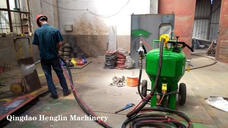 青岛恒林集团:DB500无尘喷砂机工作视频 (9)