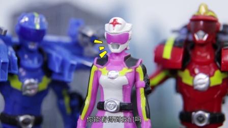 巨神救救帮第二季05巨神提醒:小心触电!