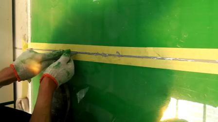 伸缩缝聚脲胶打缝既美观、又耐用