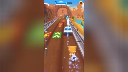 汤姆猫跑酷 每日竞赛 高难度 手机游戏