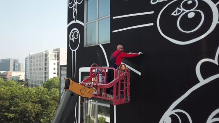 20171204高北十六 涂鸦墙