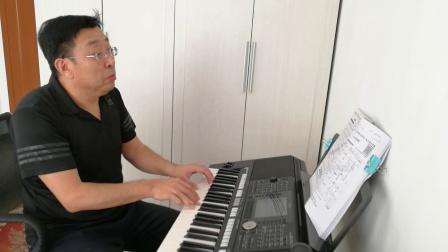 《烟雨唱扬州》电子琴演奏:陈杰 2018.1.18
