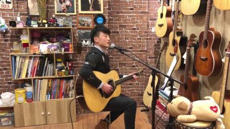 弹指间-晓玮-吉他弹唱【十九岁】