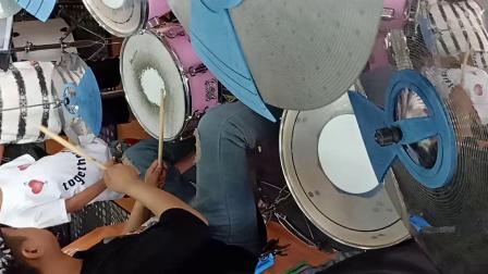 Funk  示范轻音乐  架子鼓教学(2)VID20180603141434