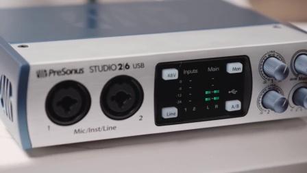 PreSonus—Studio 1810 and Studio 1824 Interfaces
