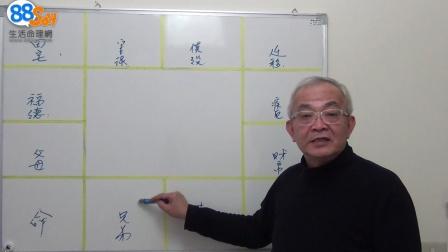 紫微斗數宮位「陰陽配對」、「四正位」概要(二)