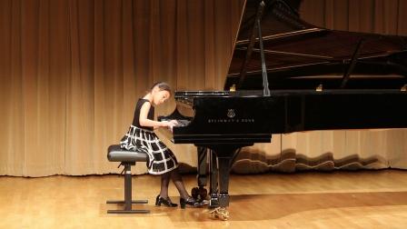 莫扎特钢琴奏鸣曲 in B Flat K570 I Allegro 吴墨啸 七岁