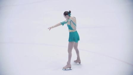 170324 2017 韩国花样滑冰锦标赛 女高中生 孙书炫(손서현)