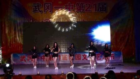 武冈一中艺术节街舞 街舞视频
