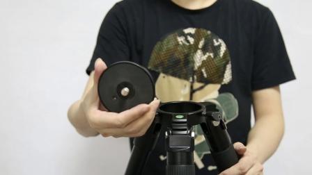 劲捷K4008三脚架单反摄影 相机三角架 铝合金拍摄三脚架