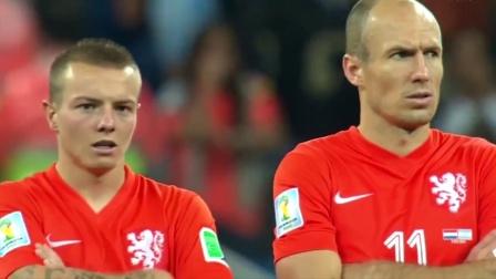 【半岛足球】回顾14世界杯荷兰VS阿根廷点球大战,所有人都屏住呼吸