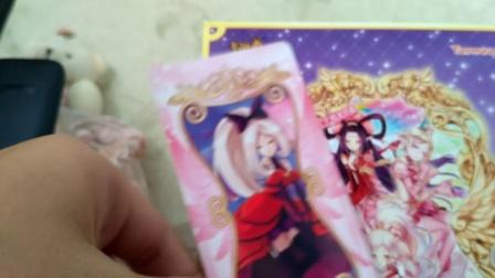小花仙契约卡片抽包开封6