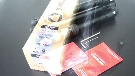 劲捷SF058新款微单三脚架 手机三角架 旅行三脚架可拆独脚架