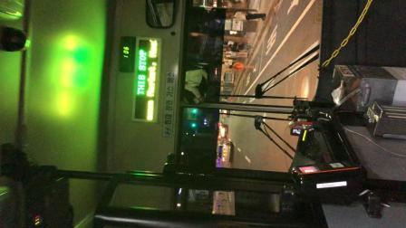 韩国首尔的夜班公交车