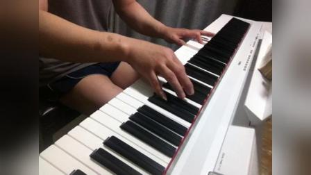 苍天大地作证钢琴