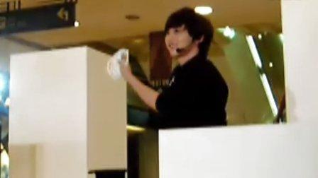 2011-04-08 趙正明魔術 空手出牌 報紙還原