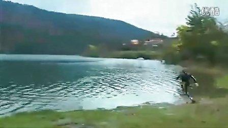 打破轻功神话的水上飞行