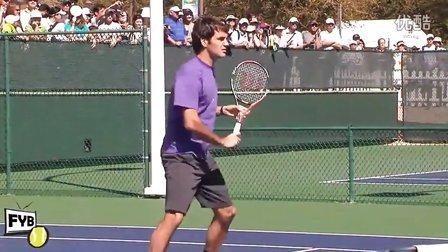 08.Roger Federer Vollying in HD