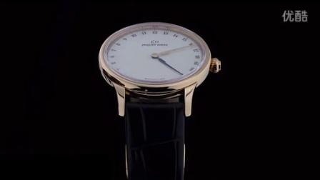雅克德罗「Grande Heure GMT」两地时间腕表
