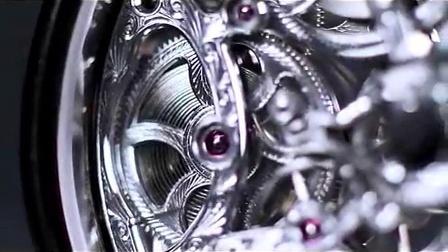 宝珀Villeret系列8日动力储存镂空腕表