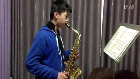 学生展示:萨克斯练习曲