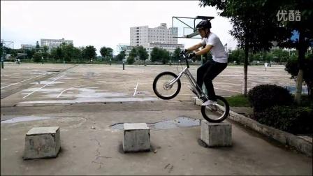 攀爬自行车 邵阳学院 李锦涛 玩车一年视频