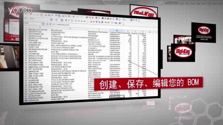 物料清单管理员 BOM 管理员 — 得捷电子 Digi-Key