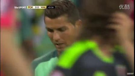 一哥之争尘埃落定,C罗、纳尼进球,葡萄牙2:0威尔士,再进决赛