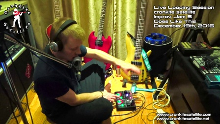卫星人 Goes Like This [Beatbox Loop Jam] cronkite satellite