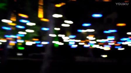 夜幕下的阳江街头