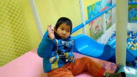 文宝滑滑梯 亲子游戏 儿童玩具