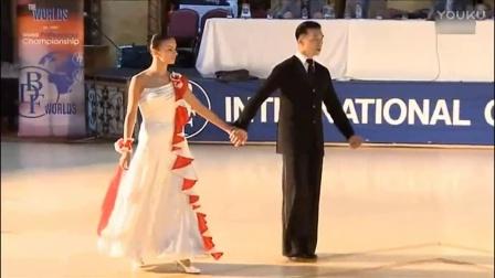 摩登舞讲习[中文]维克多冯&安娜《让身体说话》狐步舞-2012黑池讲习会 720P