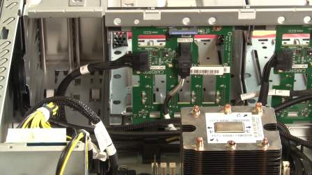 ThinkSystem ST550/ST558 removing hot-swap drive backplane