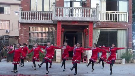 枫木塘健身队成立一周年