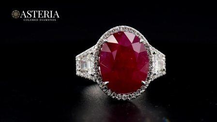 #JCRG01052469# 13.2克拉 无烧红宝石戒指