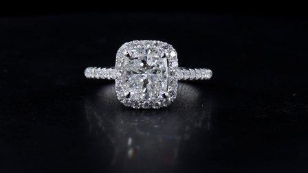 #JCRW05390878# 2.53克拉 白钻戒指