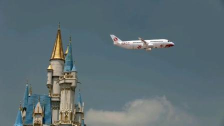 7.35米客机室外飞行视频