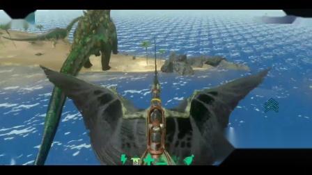 方舟生存进化:手游版 泰坦魔龙!全恐龙收集片 第1期