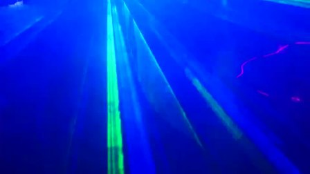 Lanling L4D1WRGB laser used in party