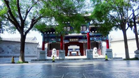 江北水城古城一景《聊城古县署》宣传片