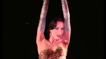 Dita Von Teese 蒂塔万提斯法国表演