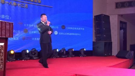 主持人佳斌参加首届庆典歌曲大赛入围前十