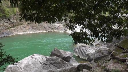 怪  潭 (皖南石台风光 AAAAA级景区)山清水秀,环境清幽,山水相依