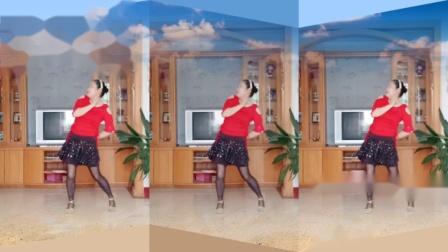 彩虹丹广场舞 布达拉我来了 柔美藏舞3人版
