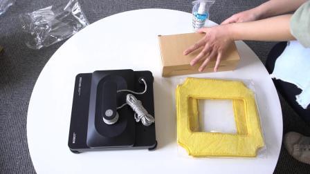 BOBOT擦窗机器人WIN3060开箱安装视频