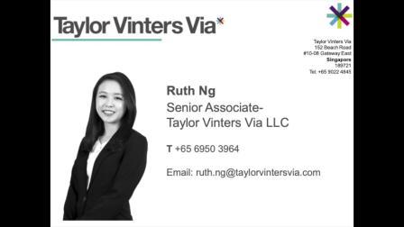 Podcast - Taylor Vinters Via (Singapore)