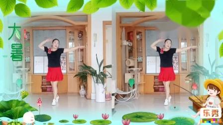 彩虹丹广场舞 我爱民族风 动感美舞2人版